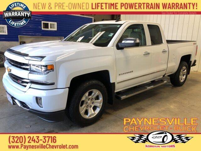 2017 Chevrolet Silverado 1500 for sale in Paynesville, MN
