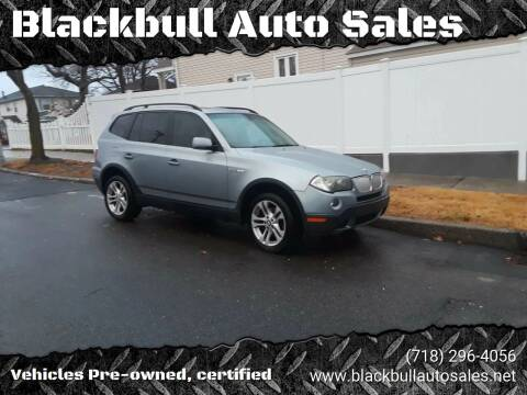 2007 BMW X3 for sale at Blackbull Auto Sales in Ozone Park NY