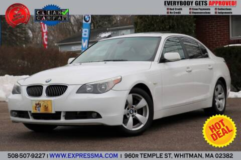 2007 BMW 5 Series for sale at Auto Sales Express in Whitman MA