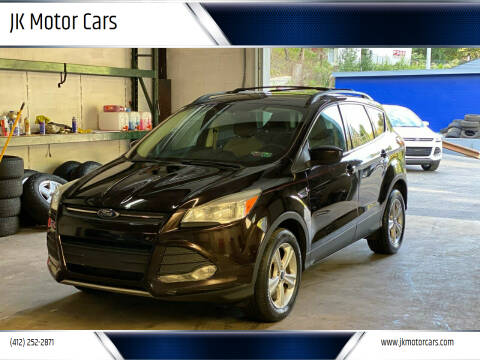 2013 Ford Escape for sale at JK Motor Cars in Pittsburgh PA