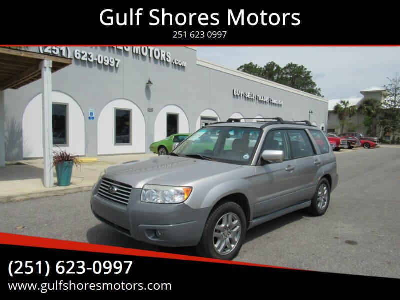 2007 Subaru Forester for sale at Gulf Shores Motors in Gulf Shores AL