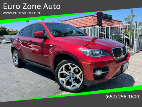 2008 BMW X6 for sale at Euro Zone Auto in Stanton CA