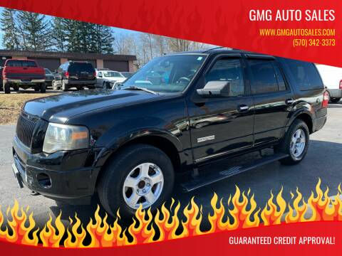 2008 Ford Expedition for sale at GMG AUTO SALES in Scranton PA
