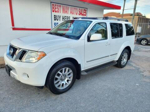 2012 Nissan Pathfinder for sale at Best Way Auto Sales II in Houston TX