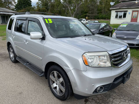 2013 Honda Pilot for sale at Richard C Peck Auto Sales in Wellsville NY