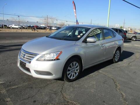 2015 Nissan Sentra for sale at ALOHA USED CARS in Las Vegas NV