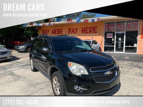 2010 Chevrolet Equinox for sale at DREAM CARS in Stuart FL