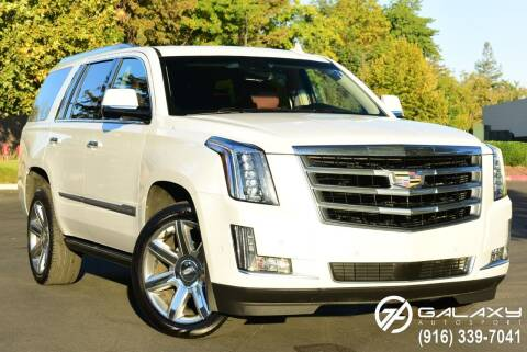 2017 Cadillac Escalade for sale at Galaxy Autosport in Sacramento CA