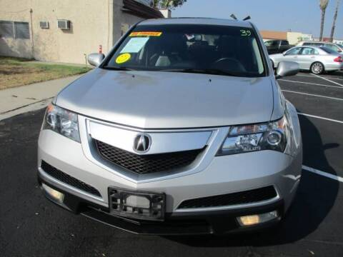 2012 Acura MDX for sale at F & A Car Sales Inc in Ontario CA