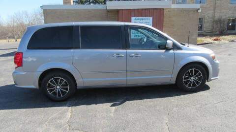 2016 Dodge Grand Caravan for sale at LENTZ USED VEHICLES INC in Waldo WI