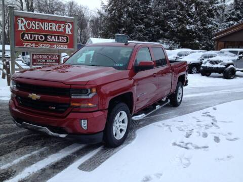 2018 Chevrolet Silverado 1500 for sale at Rosenberger Auto Sales LLC in Markleysburg PA
