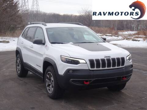 2020 Jeep Cherokee for sale at RAVMOTORS in Burnsville MN