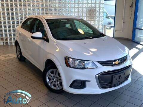 2017 Chevrolet Sonic for sale at iAuto in Cincinnati OH