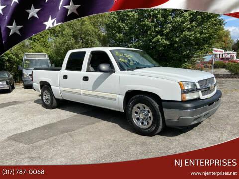 2005 Chevrolet Silverado 1500 for sale at NJ Enterprises in Indianapolis IN