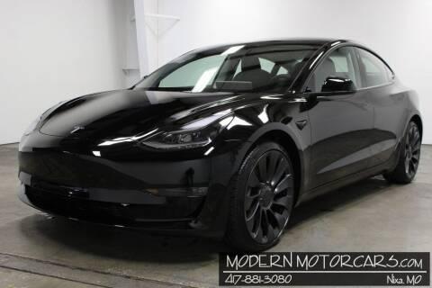 2021 Tesla Model 3 for sale at Modern Motorcars in Nixa MO