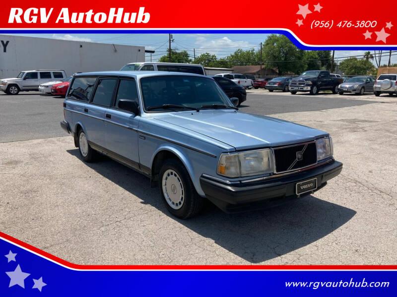 1992 Volvo 240 for sale at RGV AutoHub in Harlingen TX