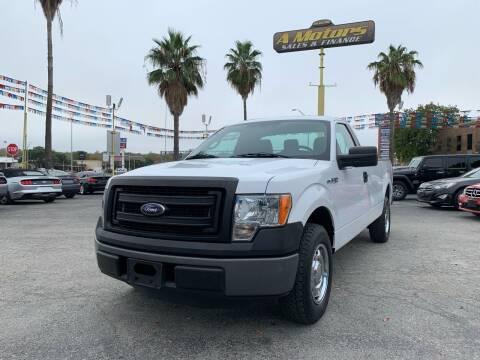 2014 Ford F-150 for sale at A MOTORS SALES AND FINANCE - 5630 San Pedro Ave in San Antonio TX