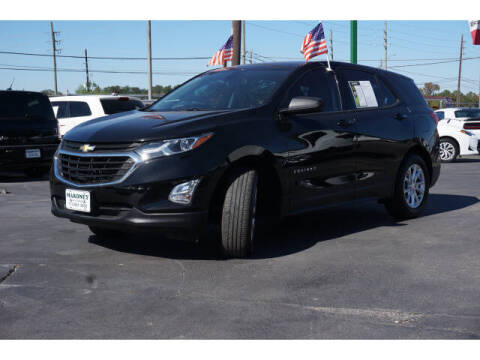 2018 Chevrolet Equinox for sale at Maroney Auto Sales in Humble TX
