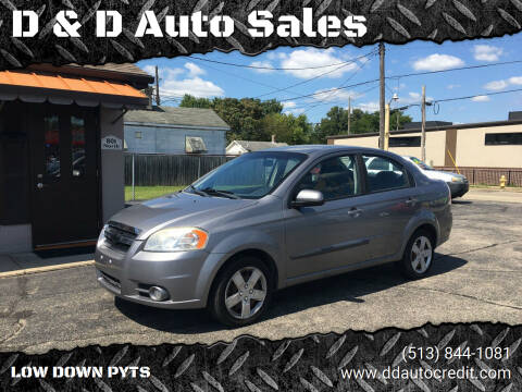 2011 Chevrolet Aveo for sale at D & D Auto Sales in Hamilton OH