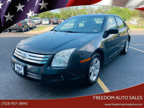 2007 Ford Fusion for sale at Freedom Auto Sales in Chantilly VA