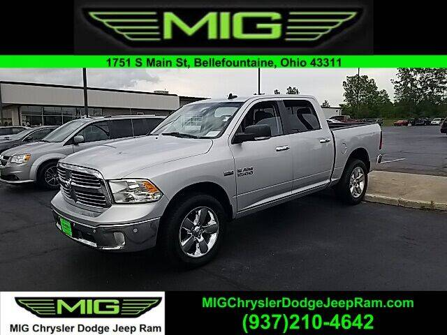 2017 RAM Ram Pickup 1500 for sale at MIG Chrysler Dodge Jeep Ram in Bellefontaine OH