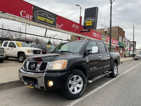 2005 Nissan Titan for sale at Manny Trucks in Chicago IL