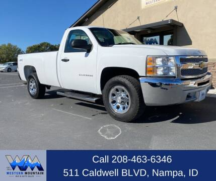 2013 Chevrolet Silverado 1500 for sale at Western Mountain Bus & Auto Sales in Nampa ID