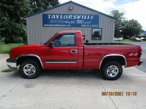 2003 Chevrolet Silverado 1500 for sale at Taylorsville Auto Mart in Taylorsville NC