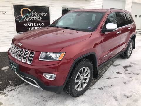 2015 Jeep Grand Cherokee for sale at HILLTOP MOTORS INC in Caribou ME