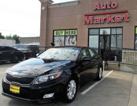 2014 Kia Optima for sale at Auto Market in Oklahoma City OK