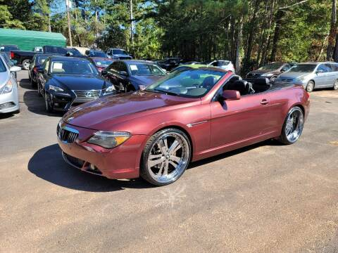 2005 BMW 6 Series for sale at GA Auto IMPORTS  LLC in Buford GA