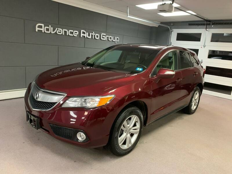 2015 Acura RDX for sale at Advance Auto Group, LLC in Chichester NH