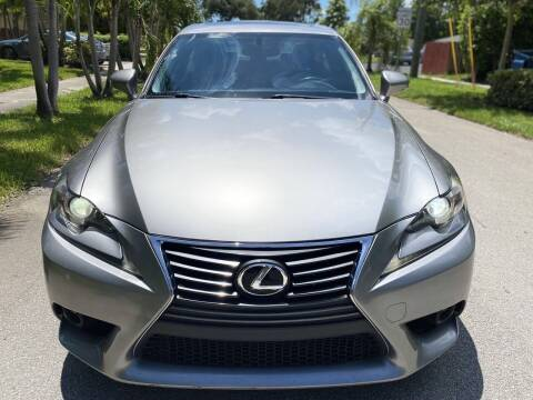 2015 Lexus IS 250 for sale at CAR UZD in Miami FL
