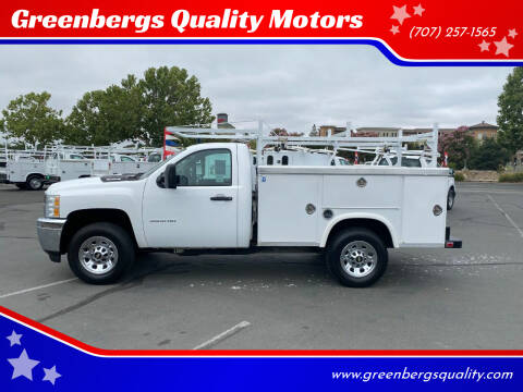 2014 Chevrolet Silverado 2500HD for sale at Greenbergs Quality Motors in Napa CA