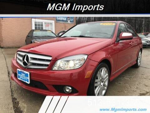 2008 Mercedes-Benz C-Class for sale at MGM Imports in Cincannati OH