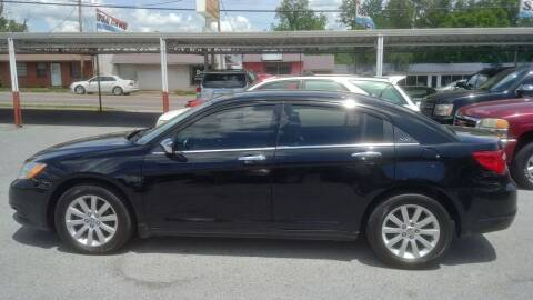 2013 Chrysler 200 for sale at Lewis Used Cars in Elizabethton TN