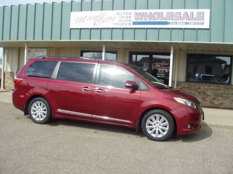 2015 Toyota Sienna for sale at Magic City Wholesale in Minot ND