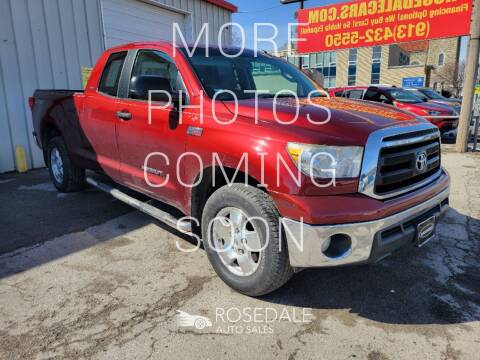 2010 Toyota Tundra for sale at Rosedale Auto Sales Incorporated in Kansas City KS