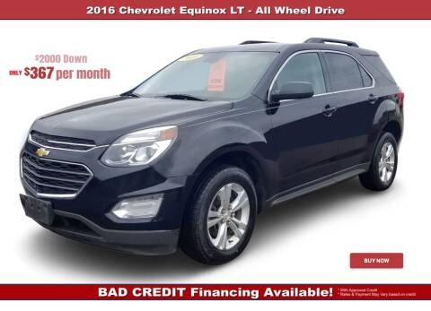 2016 Chevrolet Equinox for sale at Steel River Auto in Bridgeport OH