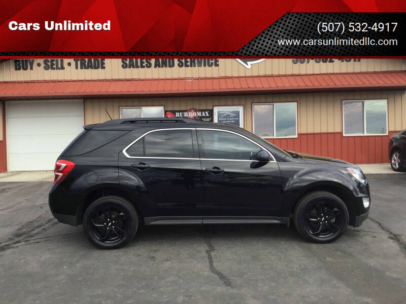 2017 Chevrolet Equinox for sale at Cars Unlimited in Marshall MN