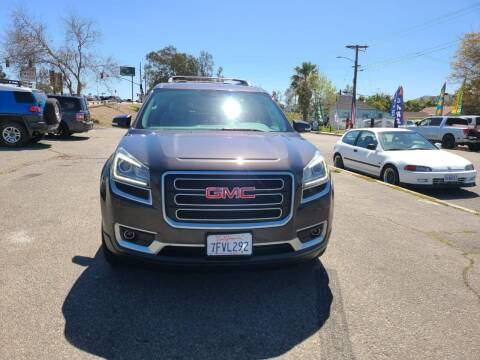 2013 GMC Acadia for sale at E and M Auto Sales in Bloomington CA