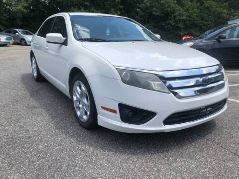 2010 Ford Fusion for sale at Select Luxury Motors in Cumming GA