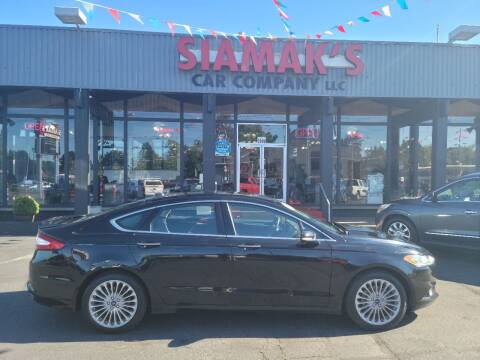 2016 Ford Fusion for sale at Siamak's Car Company llc in Salem OR