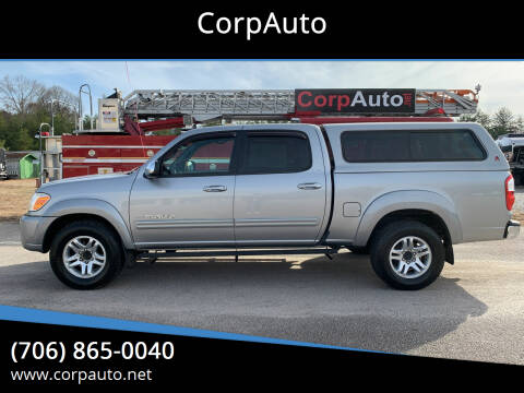 2006 Toyota Tundra for sale at CorpAuto in Cleveland GA