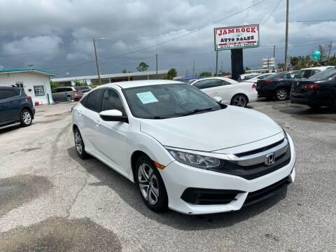 2016 Honda Civic for sale at Jamrock Auto Sales of Panama City in Panama City FL