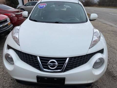 2014 Nissan JUKE for sale at NORTH CHICAGO MOTORS INC in North Chicago IL