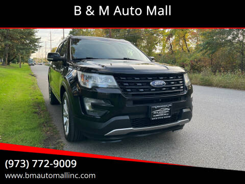2016 Ford Explorer for sale at B & M Auto Mall in Clifton NJ
