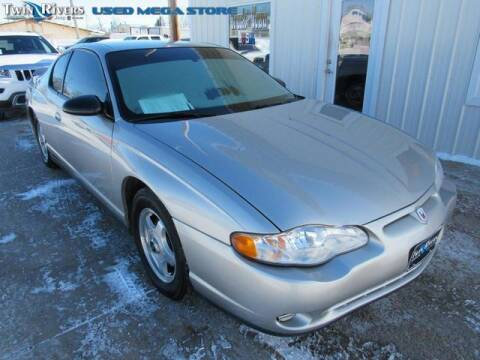 2005 Chevrolet Monte Carlo for sale at TWIN RIVERS CHRYSLER JEEP DODGE RAM in Beatrice NE