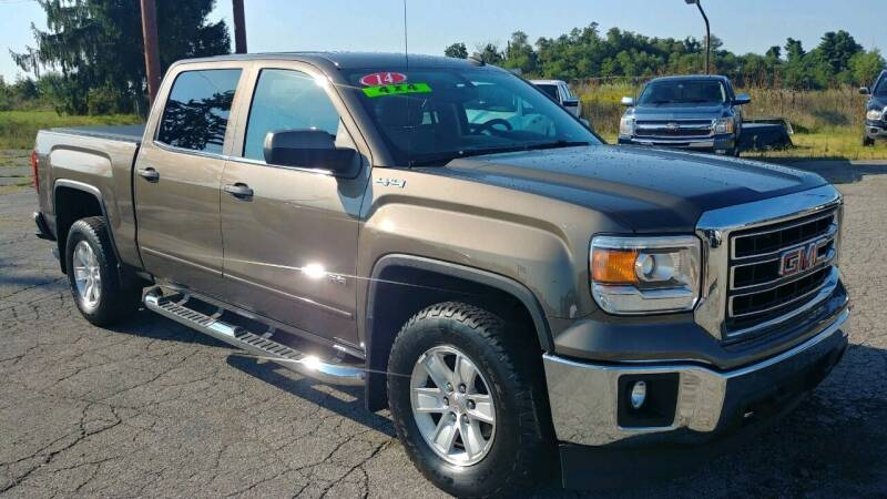 2014 GMC Sierra 1500 for sale at AutoBoss PRE-OWNED SALES in Saint Clairsville OH