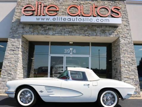 1961 Chevrolet Corvette for sale at Elite Autos LLC in Jonesboro AR